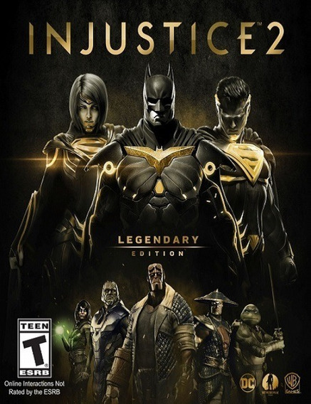 Injustice 2 Legendary Pc - 100% Original (envio Rápido)