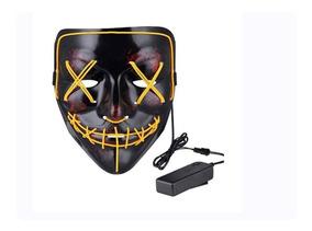 Mascara Led La Purga 6 Colores Flash Con Control