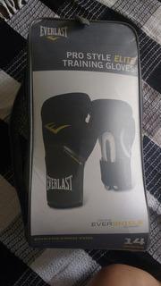 Kit Everlast Elite Boxe E Muay Thai