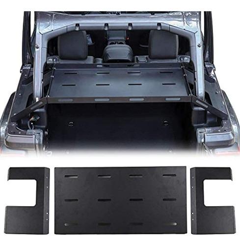 Bandeja Portaequipaje De Metal Sólido Para Jeep Wrangler Jk