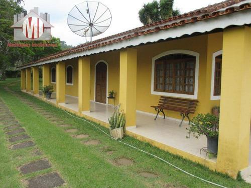 Chácara Com Escritura, 04 Dormitórios À Venda, 12000 M² Por R$ 580.000 - Zona Rural - Pinhalzinho/sp - Ch0056