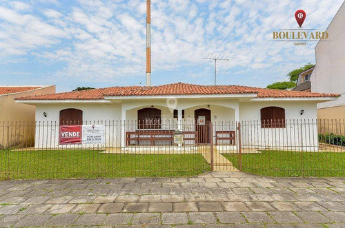 Casa Com 4 Dormitórios À Venda, 239 M² Por R$ 800.000,00 - Guabirotuba - Curitiba/pr - Ca0177