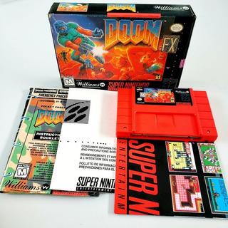 Doom Completo Cib Original Snes Super Nintendo