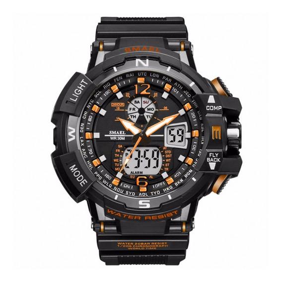Relógio Masculino Smael Analógica Digital Lançamento Pd