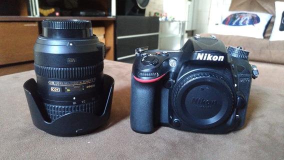 Câmera D7200 + Lentes