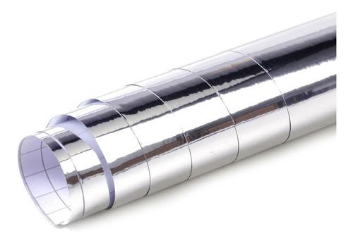 Lamina Adhesiva Imitación Espejo Para Decorar  100cm X 60cm