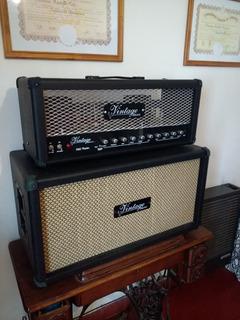 Amplificador Vintage Nu Twin 100w Recibo Valvestate 8080