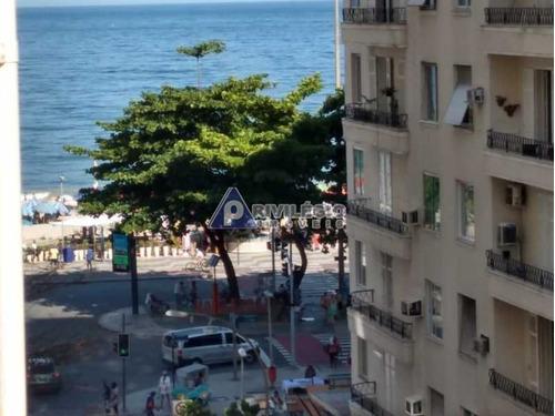 Kitnet/conjugado À Venda, 1 Quarto, Copacabana - Rio De Janeiro/rj - 8075