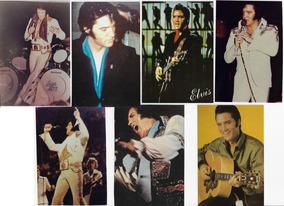 7 Fotos Papel Fotográfico Tamanho 10x15 Cm Elvis Presley