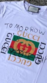 Camiseta Gucci Tomorrow Is Now Modelo Italy Unissex