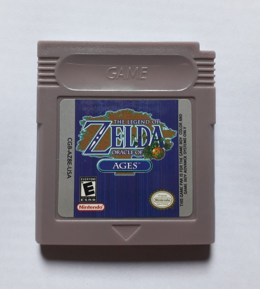 The Legend Of Zelda Oracle Ages Português Game Boy Color Gbc