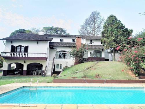 Casa Com 4 Dormitórios À Venda, 500 M² Por R$ 1.500.000,00 - Granja Viana - Cotia/sp - Ca17205