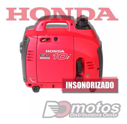 Grupo Electrógeno Generador Honda Eu10 Inverter Insonorizad