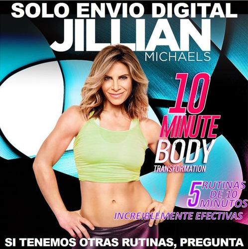 Jillian Michaels Transforma Tu Cuerpo En 10 Minutos Fitness
