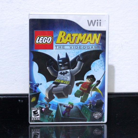 Jogo Wii Batman The Video Game Lego, Americano!!!!!