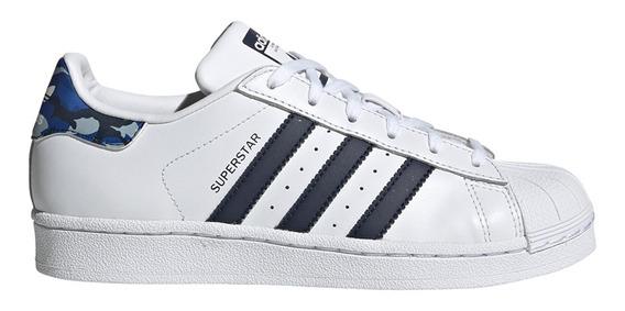 Zapatillas adidas Originals Moda Superstar J Bl/az