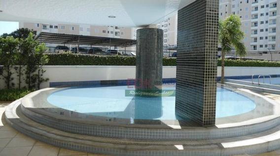 Apartamento Com 2 Dormitórios Para Alugar, 69 M² Por R$ 1.300,00/mês - Barranco - Taubaté/sp - Ap1903