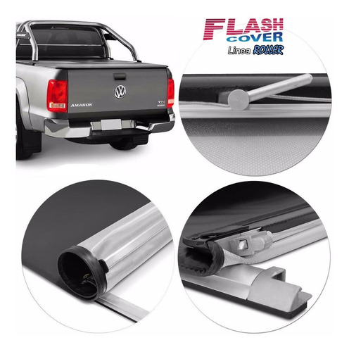Lona Flash Cover Roller P/ Amarok 2010 2017 2018 2019 2020 !
