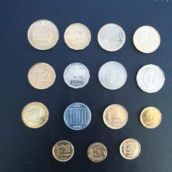 Lote De Monedas Argentinas