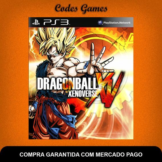 Dragon Ball Xenoverse Xv - Ps3 - Pronta Entrega