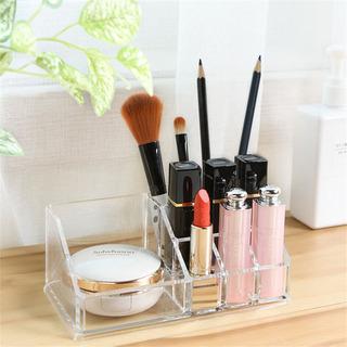 Portátil Transparente Organizador De Maquillaje Caja De Alma