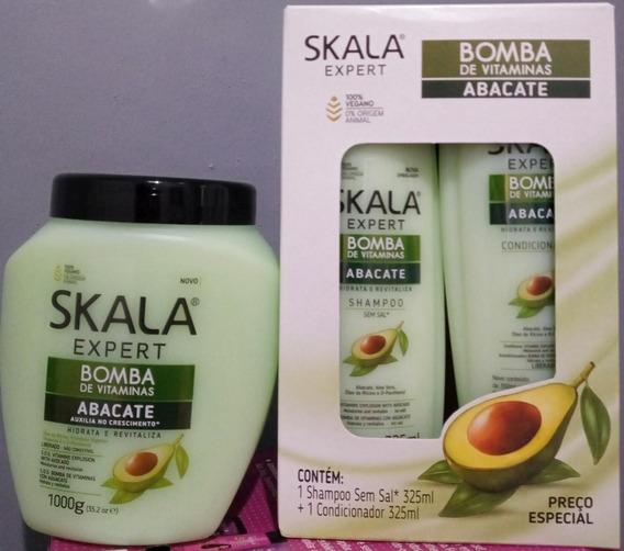 Kit Skala Cremas,shampoo,acondicionador