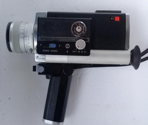 Filmadora Minolta Autopak-8 D4 Super 8 Funcionando