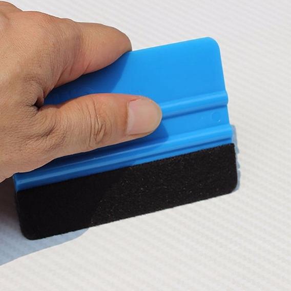 Espatula 3m Azul Feltro Aplicação De Adesivo E Envelopamento