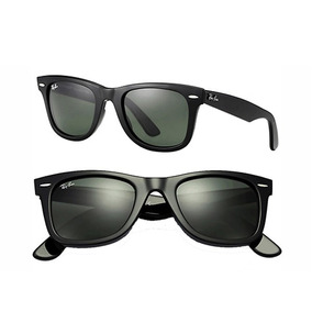 349606a65 Oculos Ray Ban Wayfarer Rb2140 Preto/verde Envio Em 24h