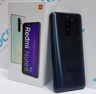 Xiaomi Redmi Note 8 Pro Con Mica Y Estuche