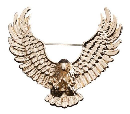 Prendedor Insignia Broche Para Hombre De Aguila