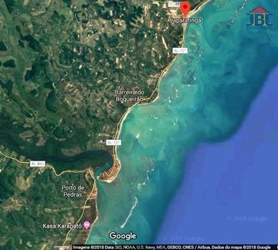 Área De Praia À Venda Em Japaratinga/al - Compre O Seu Área De Praia Aqui! - 1419266