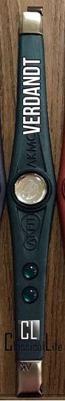 Pulseira Bracelet Akmos Akfit Verdandt Verde Original Ak Fit