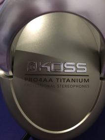 Fone Koss Pro 4aa Titanium