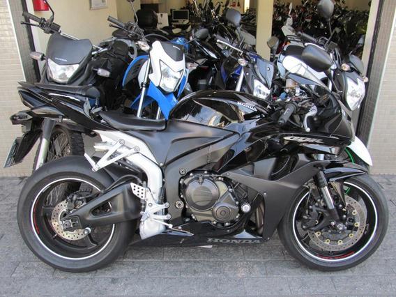 Honda Cbr 600 Rr 2008 Preta