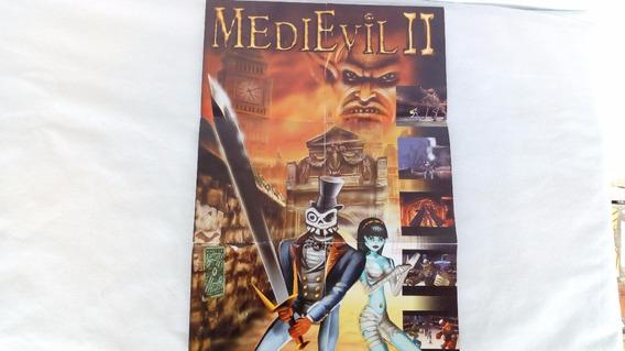 Encarte Jogo Medievil || Do Playstation 1