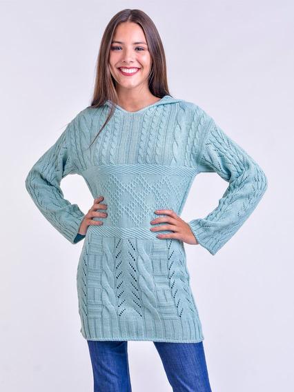 Sweater Largo Con Capucha Mauro Sergio !