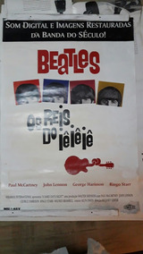 Poster Cartaz Beatles 62x90 Para Quadro Antigo E Original