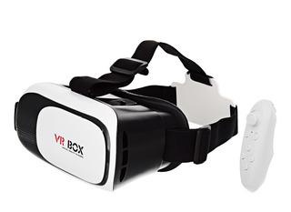 Óculos Vr Box Realidade Virtual - Preto