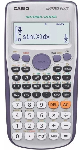Calculadora Cientifica Casio Fx-570es Plus 417 Funciones