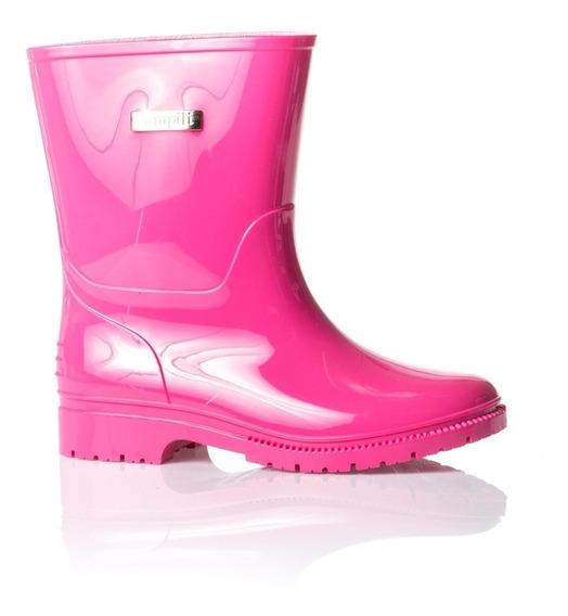 Bota Galocha Pampili Pink Promoção - Cód 205003