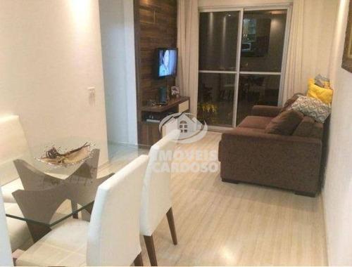 Imagem 1 de 21 de Apartamento Residencial À Venda, Conjunto Residencial Vista Verde, São Paulo. - Ap0011