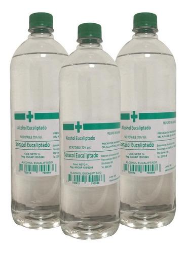 Alcohol Eucaliptado 70º L Entrega Inmediata Caja X 15 Oferta