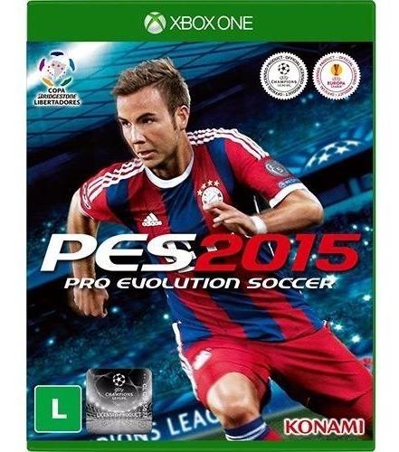 Pes 2015 Xbox One Mídia Física Novo Lacrado