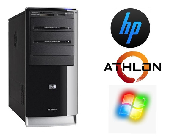 Pc Desktop Hp Pavilion 2,2 Ghz 500gb 4gb Cd-dvdw Seminovo!