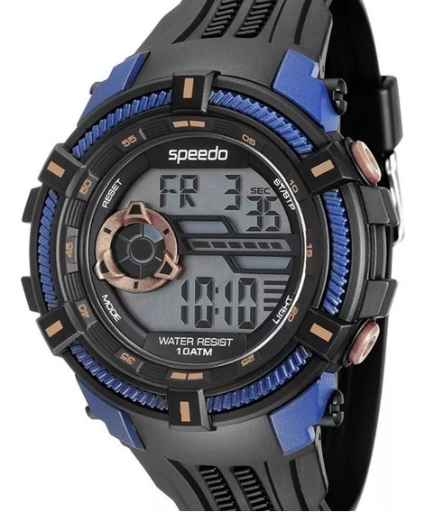 Relógio Speedo Masculino Esportivo 80591g0evnp3 100 Metros