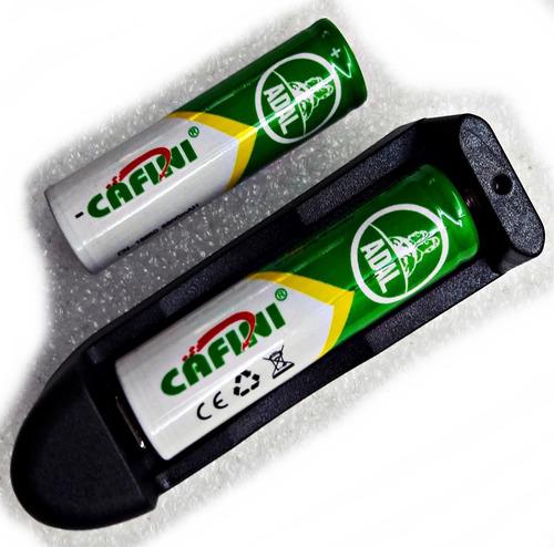Imagen 1 de 7 de 2 Pilas Baterias 18650 4.2v Recargables Mas Cargador 1 Pila