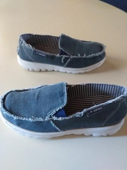 Zapatos De Tela Lagear Talle 32