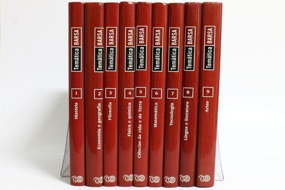 Enciclopédia Temática Barsa 10 Livros + 1 Dvd-rom