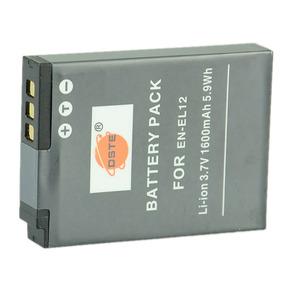 267699 Dste En-el12 Battery & Charger For Niko Sob Encomenda